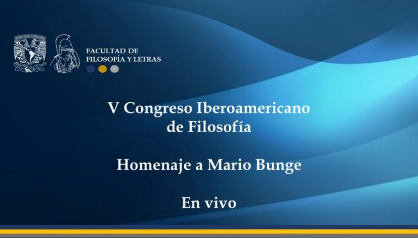 Homenaje a Mario Bunge vivo