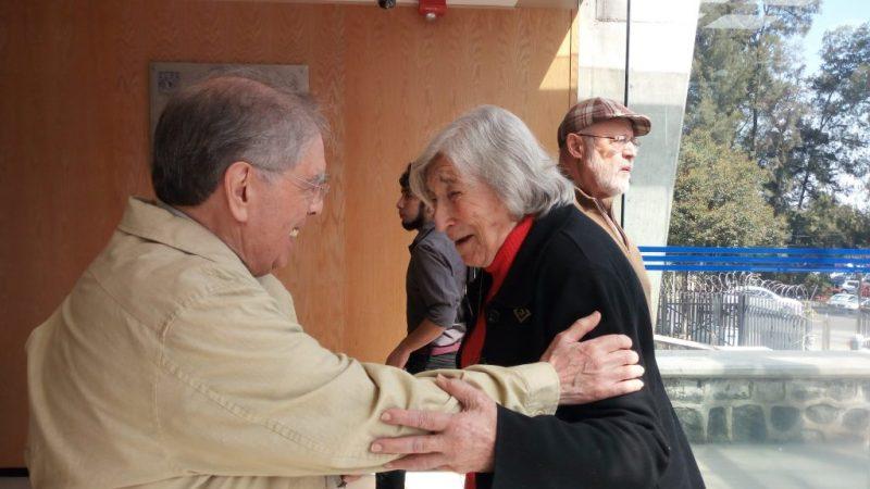 Margit Frenk y José Luis Ibáñez