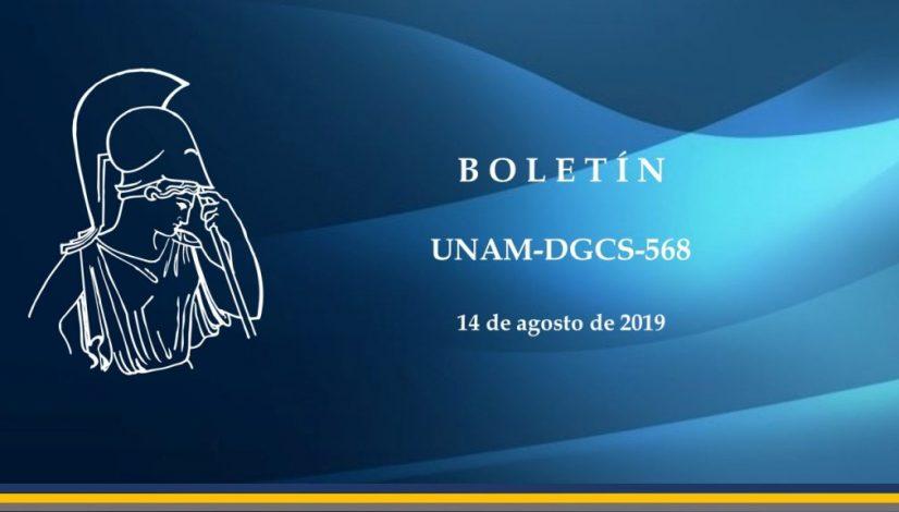 Boletín UNAM-DGCS-568