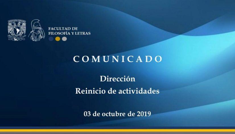ComunicadoDir-reinicio03102019