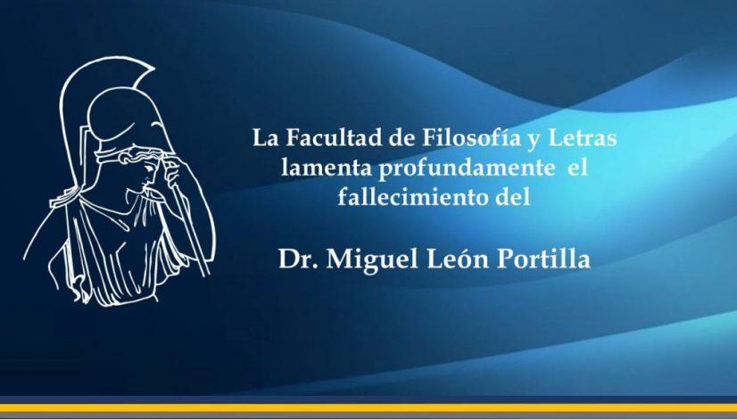 Dr Miguel Leon Portilla
