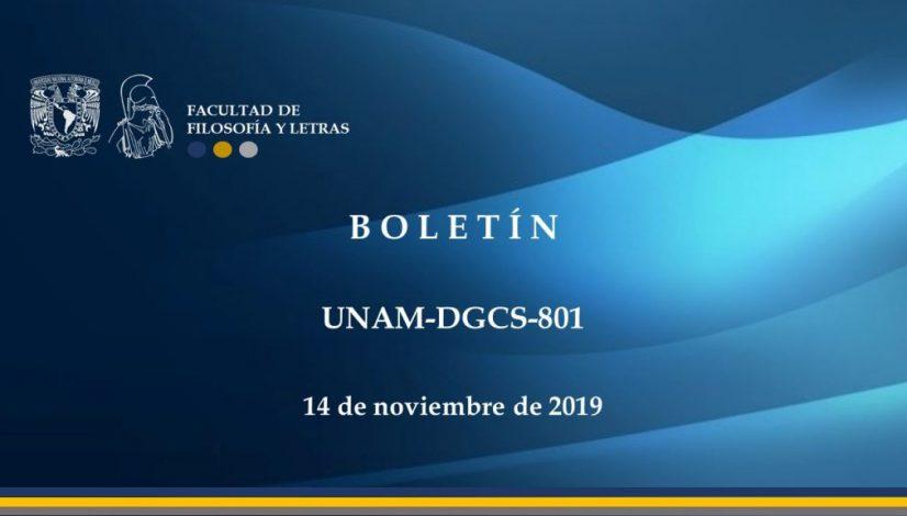 Boletin UNAM-DGCS-801