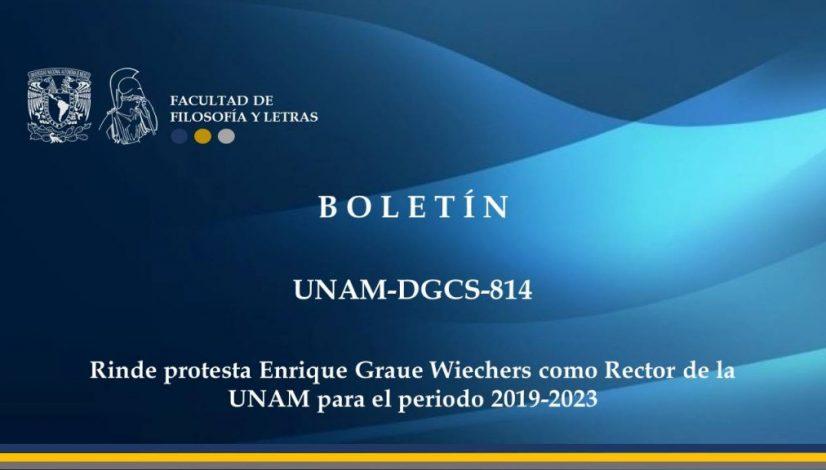 Boletin UNAM-DGCS-814