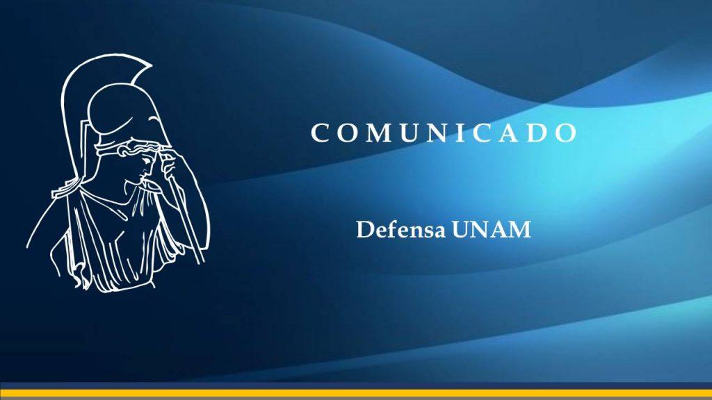 Defensa UNAM