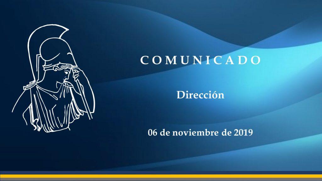 comunicado 06112019