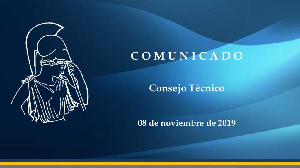 comunicado CT-1