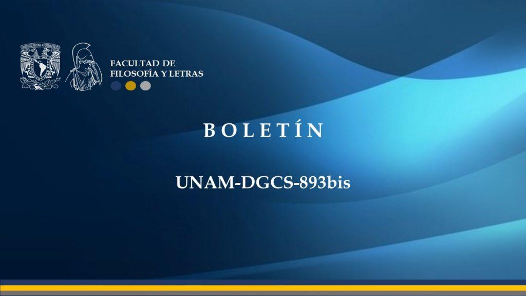 Boletin UNAM-DGCS-893bis