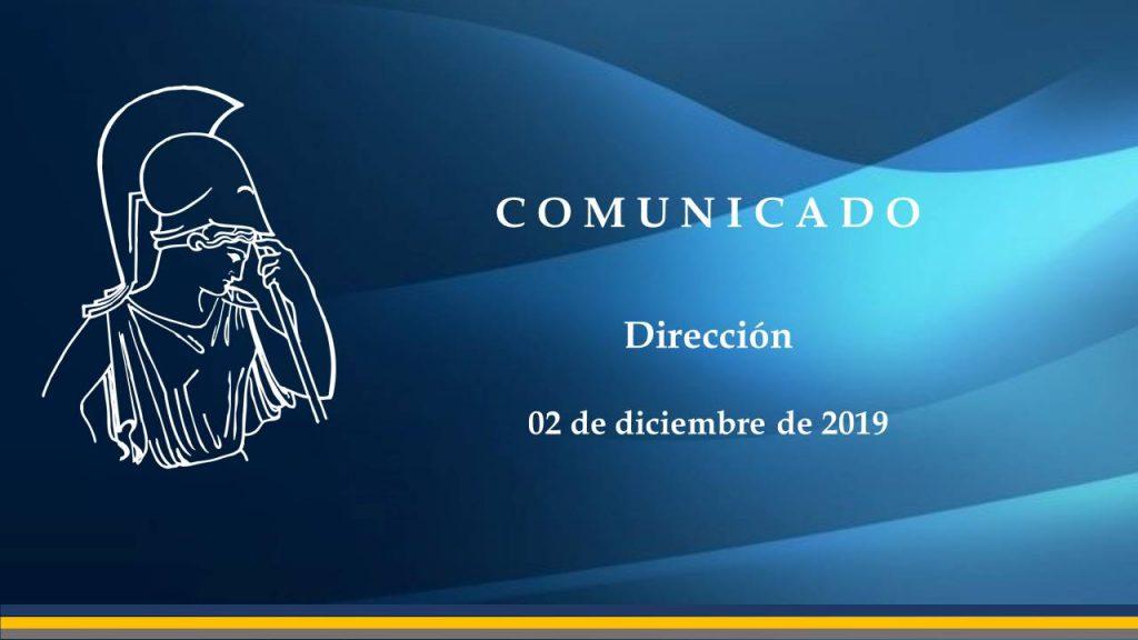 Comunicado 02122019