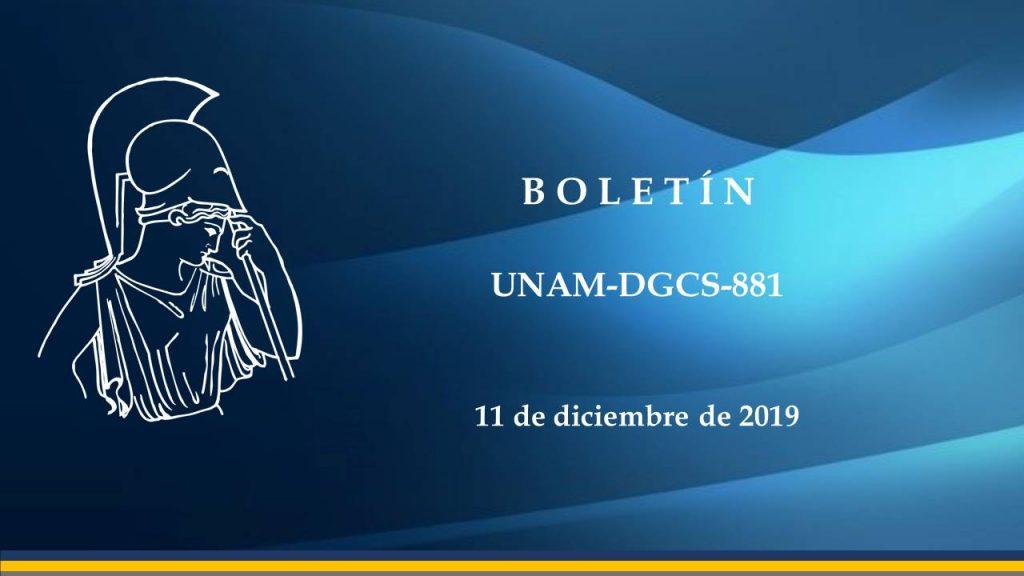 UNAM-DGCS-881