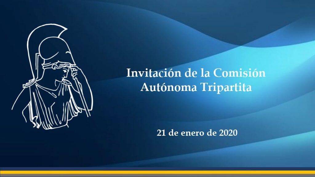 Invitacion tripartita