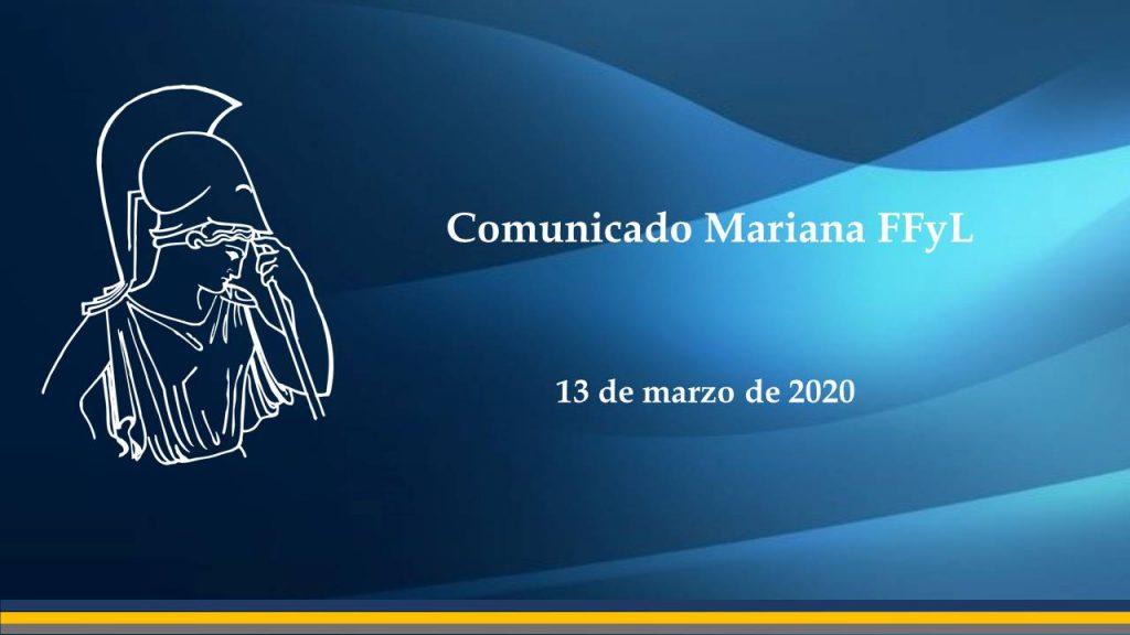 Comunicado Mariana