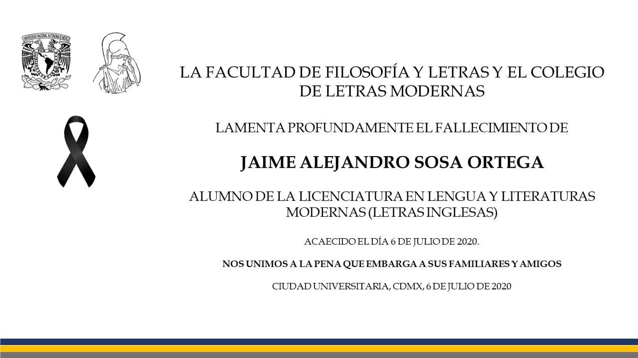 Esquela_FFyL_Jaime_Alejandro_Sosa