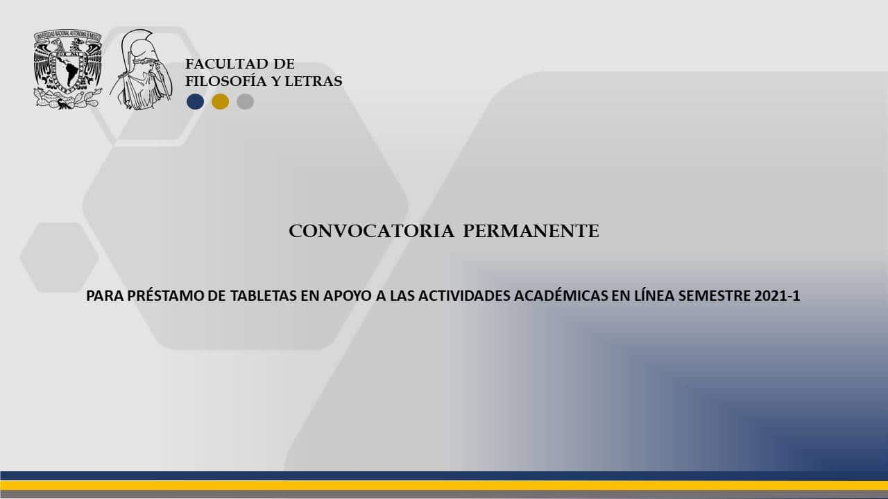 Convocatoria permanente 2021-1