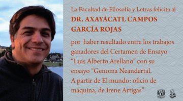 Dr Axayácatl Campos García Rojas
