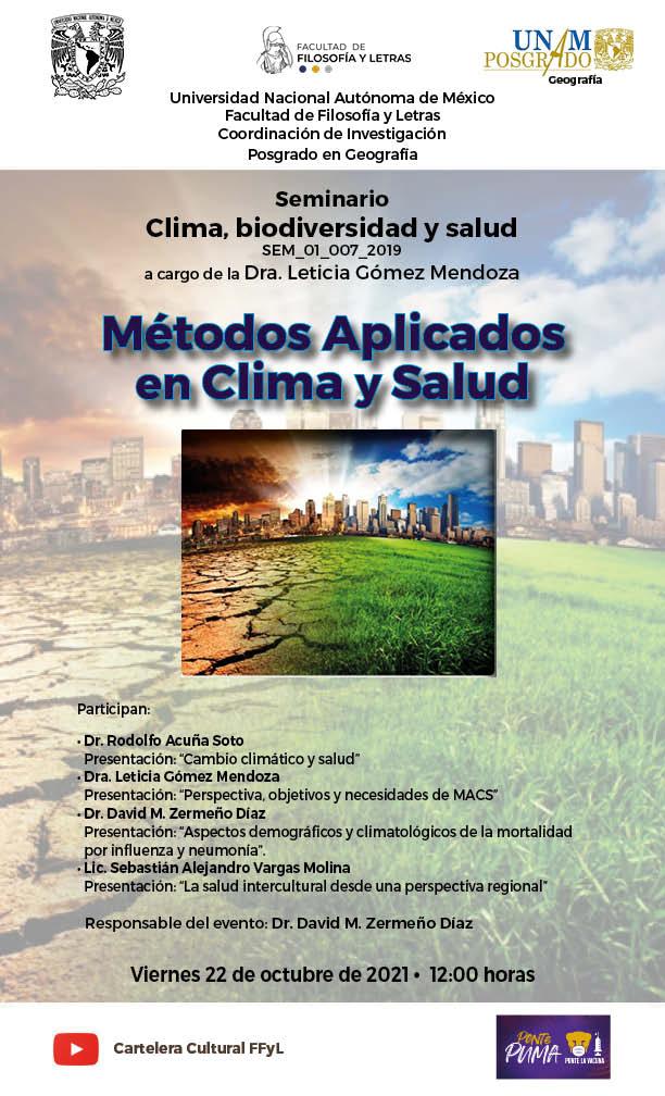 seminario Clima, biodiversidad y salud